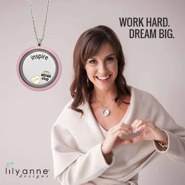 """Remember if """"Plan A"""" didn't work, the alphabet has 25 more letters! Work hard and dream BIG! #LilyAnneDesigns #DreamBig #PersonalisedJewellery"""