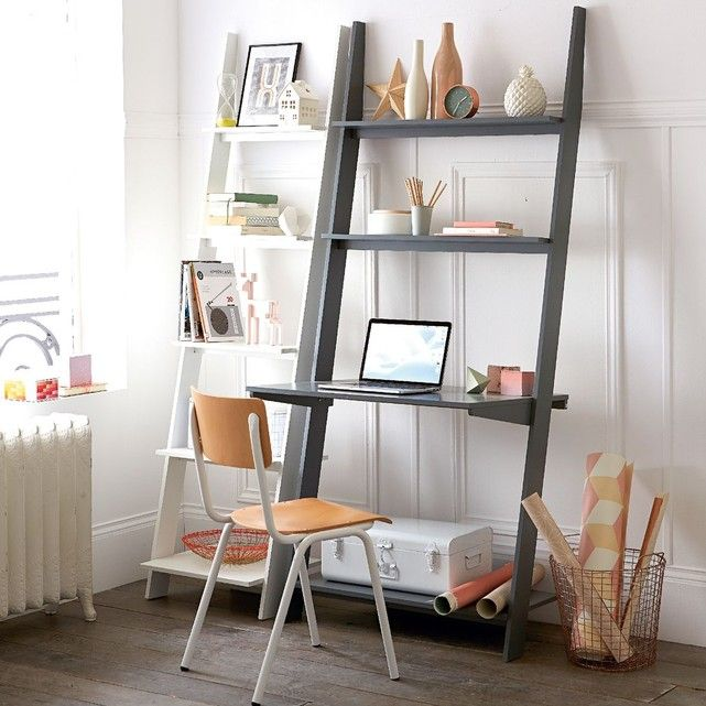 les 25 meilleures id es de la cat gorie etagere echelle. Black Bedroom Furniture Sets. Home Design Ideas