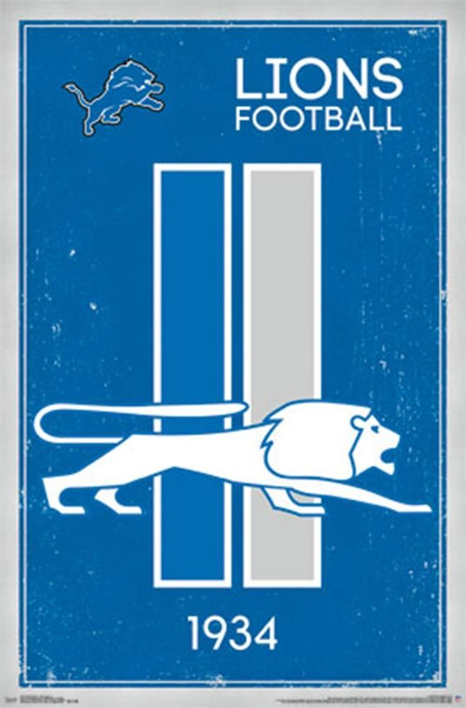 The Lions play their home games at Ford Field in Detroit, Michigan. Description from posterrevolution.com. I searched for this on bing.com/images