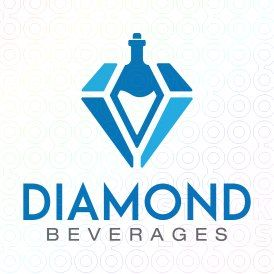 Exclusive Customizable Logo For Sale: Diamond Beverages | StockLogos.com https://stocklogos.com/logo/diamond-beverages