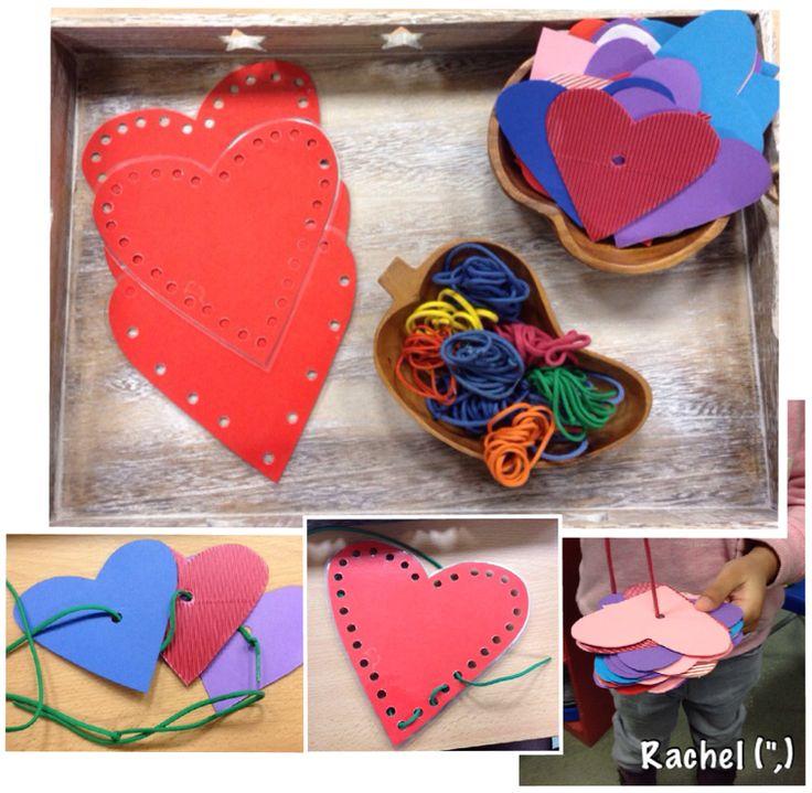 "Threading hearts - from Rachel ("",)"