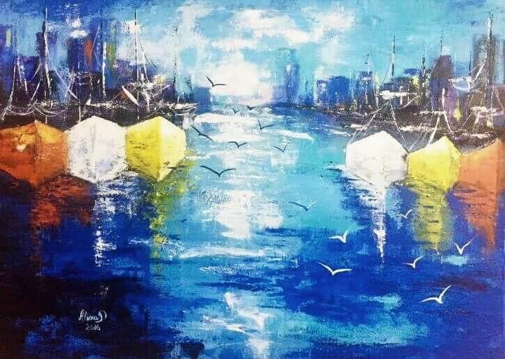 """""""Lumini in portul meu Albastru"""""""