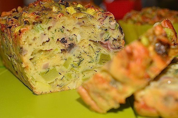 Chec aperitiv-cu ciuperci, dovlecel, ceapa si usturoi verde, cascaval si marar proaspat