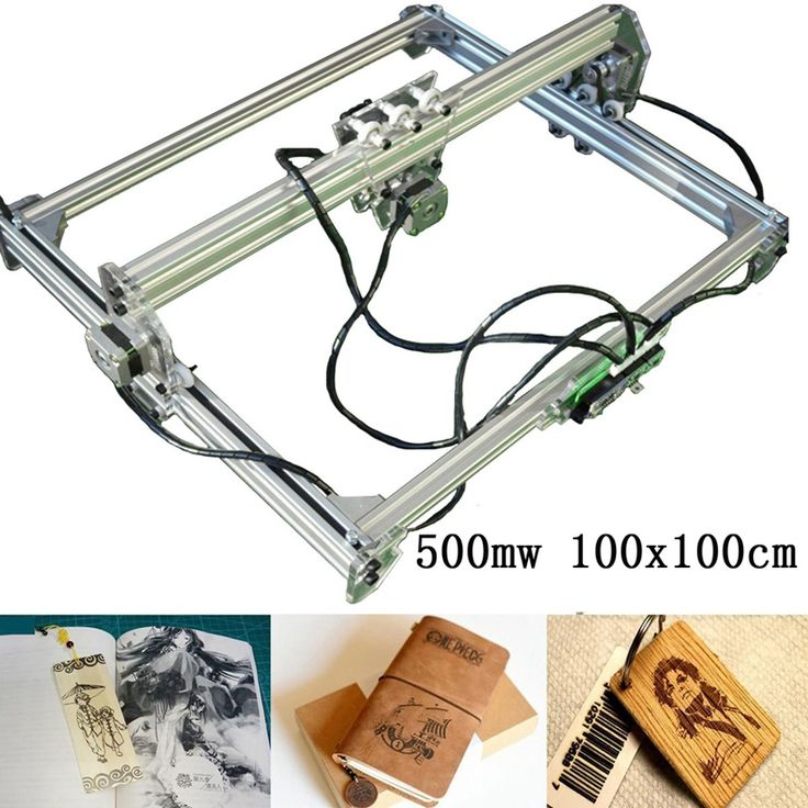 500mw DIY Laser engraving engraver cutting machine Laser Etcher of 100*100cm big working area
