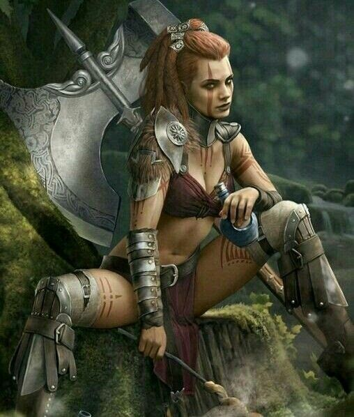 13 Best Sexy Warriors Images On Pinterest: Female Characters In 2019