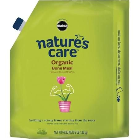 Nature's Care 3 lb. Organic Bone Meal (phosphorous source for radishes beets)