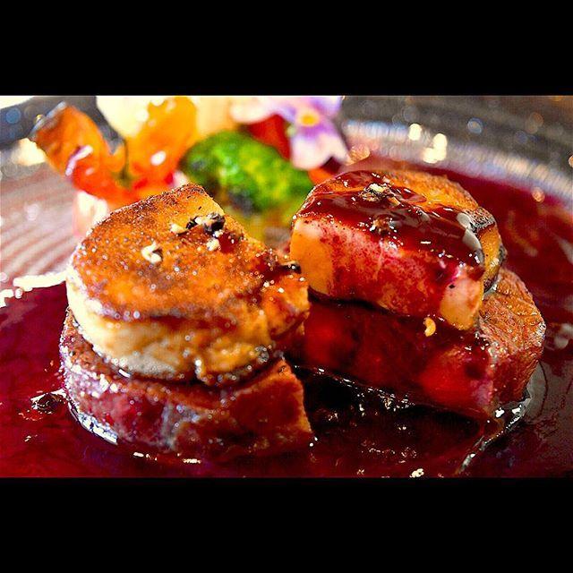 Filetto di Manzo con fegato #lunch#dinner#secondpiatto#ristorante#instafood #foodie #foodphotography #instagood #foodstagram #foodpic#肉#肉料理#ミルフィオーリ#イタリアン#イタリア料理#焼津#ランチ#ディナー#コース料理#パスタ