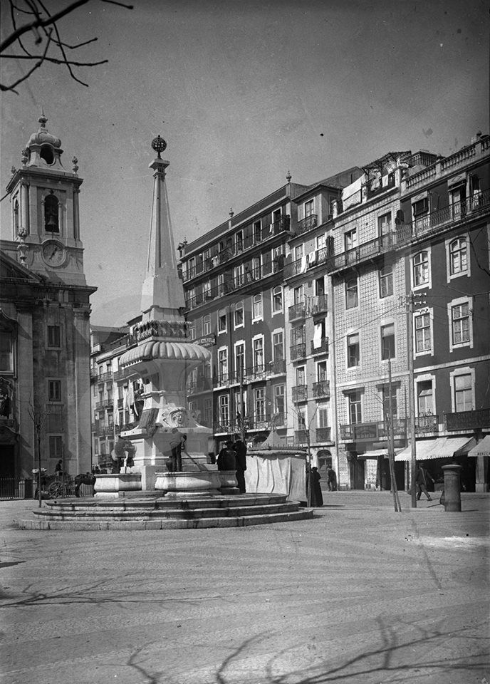 Lisboa, Chafariz de S. Paulo 1907 - Fotografia de Joshua Benoliel - PORTUGAL