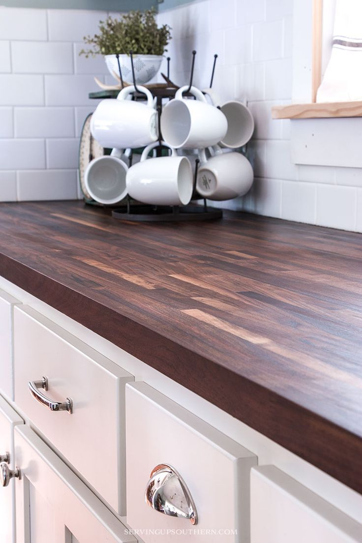 See How I Protect My Butcher Block Countertops And Keep Them