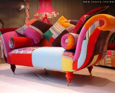 Lisa Whatmough's Patchwork Sofa