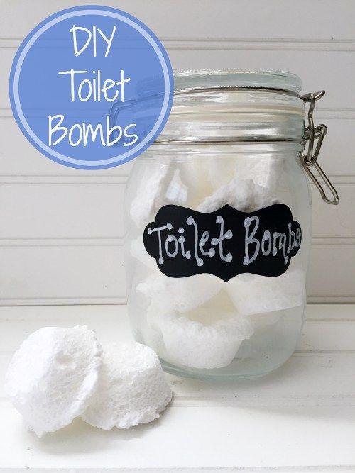 Easy to Make DIY Toilet Bombs to Freshen Your Toilets