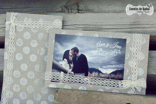 Bodas de Cuento { Wedding Planners }: Ana y Javi. Las invitaciones