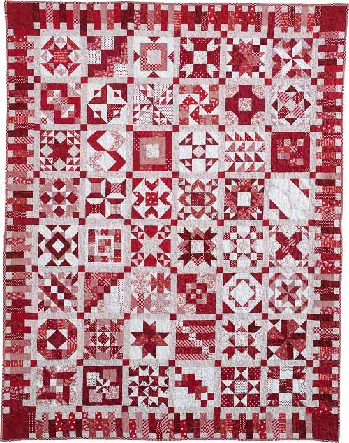 315 best Red and white quilts images on Pinterest | Patchwork ... : red white quilt - Adamdwight.com