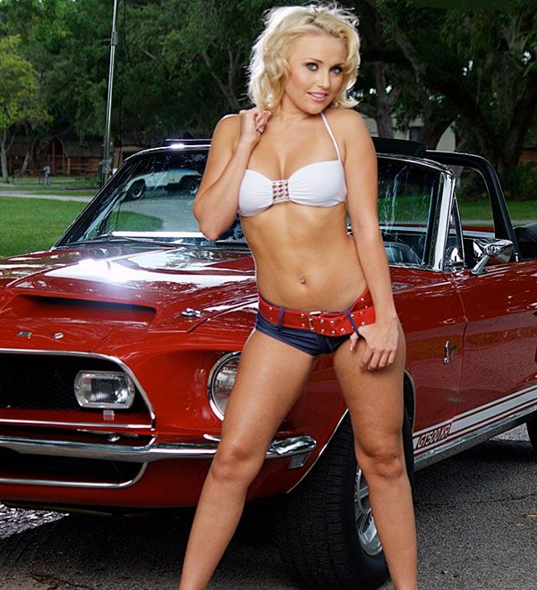 Fast cars and chicks, women with shaved pubes