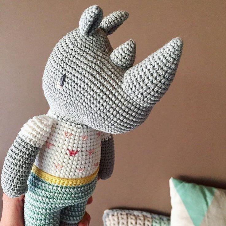 18 besten nashorn(crochet) Bilder auf Pinterest | Nashorn, Nashörner ...