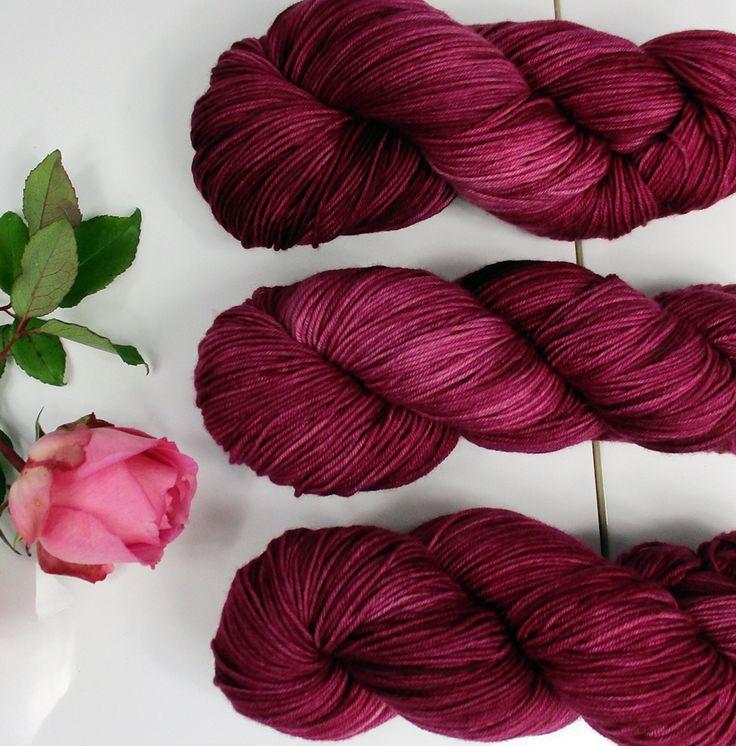 wełna ręcznie farbowana - hand dyed yarn