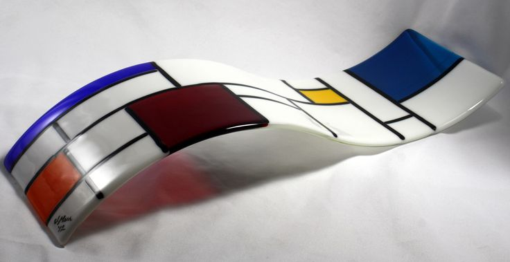 Fused Glass Wall Art/ Sculpture- De Stijl White (Made to Order) by JMFusions on Etsy https://www.etsy.com/ca/listing/106039020/fused-glass-wall-art-sculpture-de-stijl