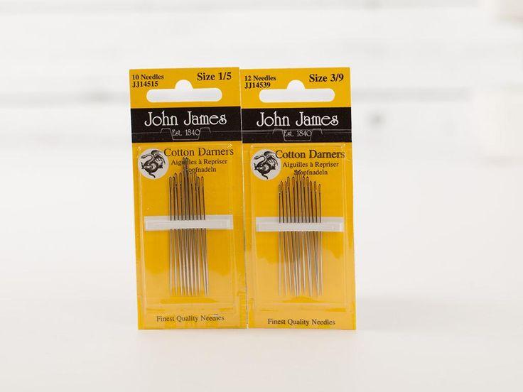 John James Cotton Darners Needles  - None