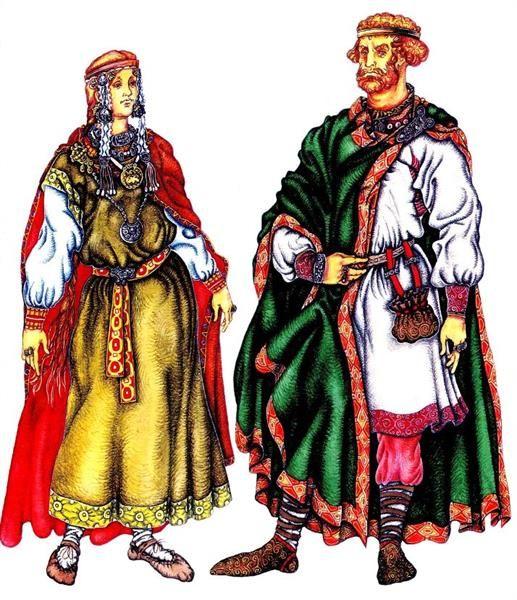 Славяне национальный костюм