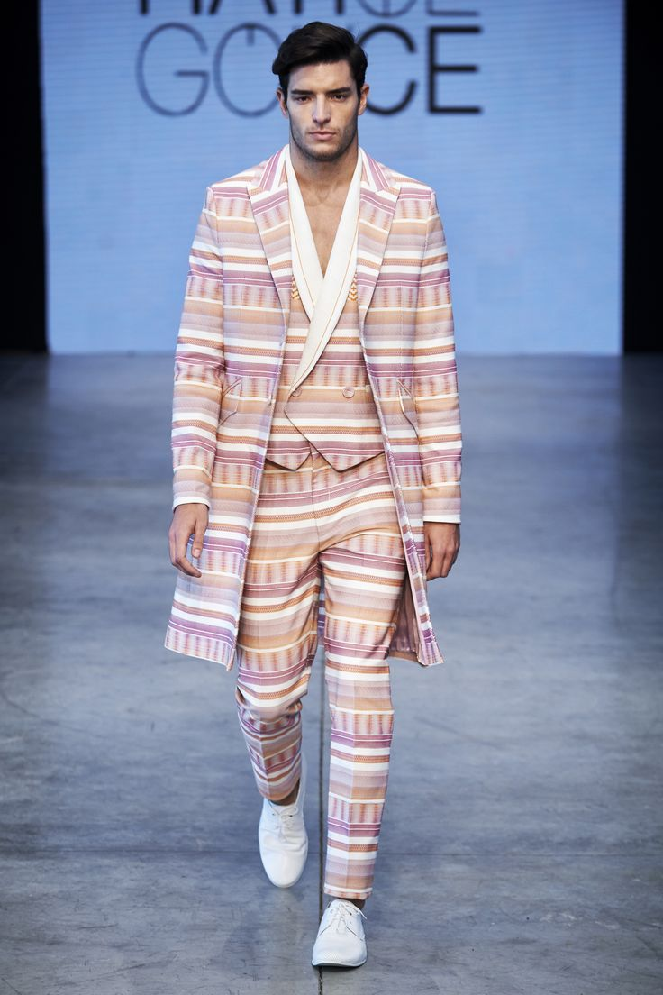 "Hatice GÖKÇE  Men's Collection SS16 ""New Stories"" MBFWI"