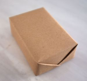 How to wrap your soap without tape