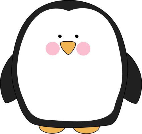 Chubby Penguin Clip Art - Chubby Penguin Image