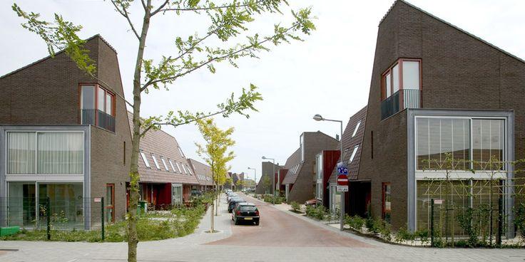 Architectonisch ontwerp 68 eengezinswoningen i.o.v. Heijmans Vastgoed (VHP, gerealiseerd 2004)