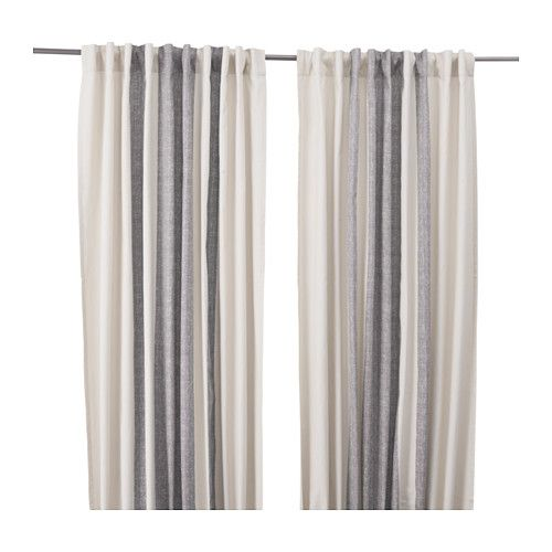 KEJSARKRONA Curtains, 1 pair IKEA for in the kitchen