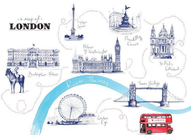 Карты картинки лондон