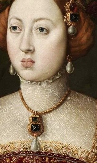Portrait of Maria- Manuela, Princess of Portugal by Antonis Mor