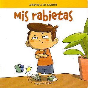 """Libro infantil """"Mis rabietas"""", para educación emocional, cuento rabietas"""