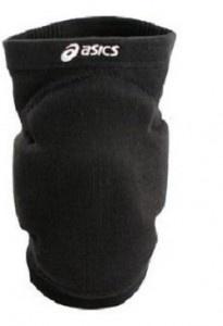 Nakolanniki ASICS conform czarny – profesjonalne ochraniacze siatkarskie z  potrójną wkładką żelową, elastyczne, oddychające