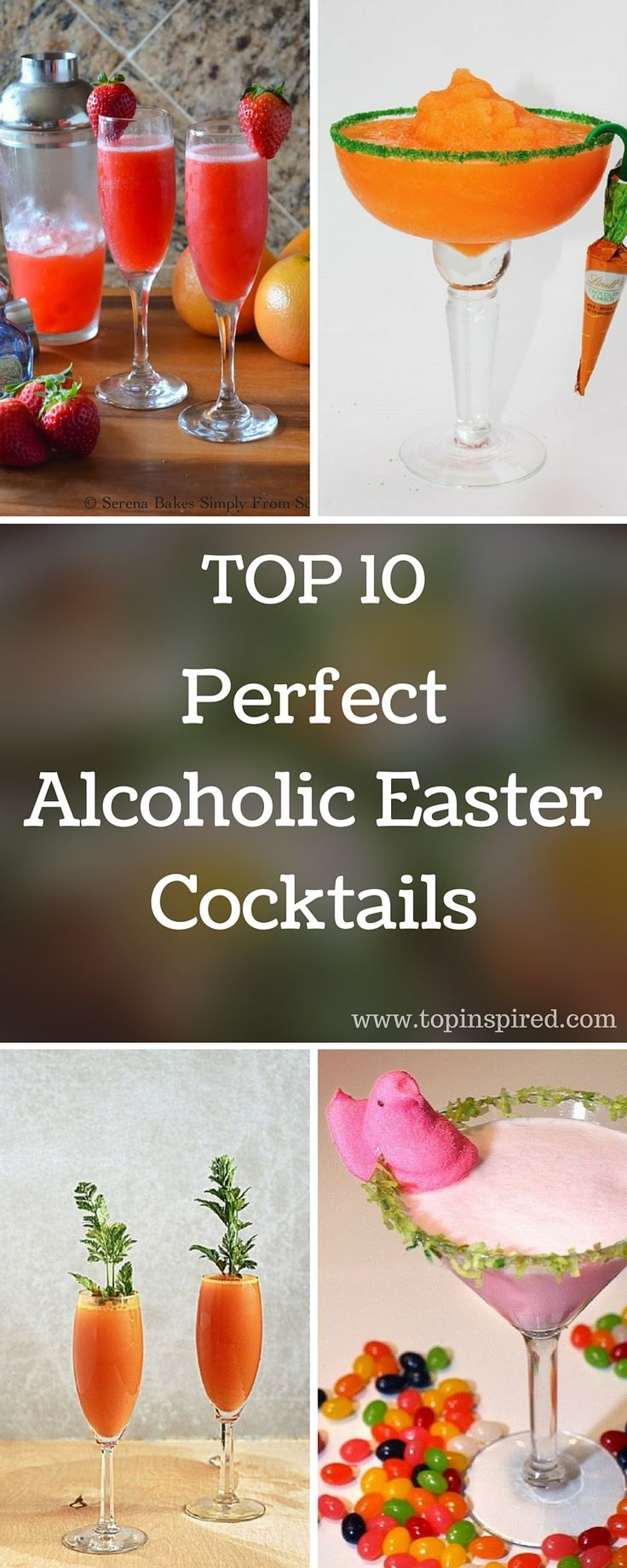 we've made an article where we've gathered Top 10 Perfect Easter Alcoholic Cocktails. Choose one or a few of these amazing recipes and satisfy your family members in the best possible way. Happy Easter everyone! #Easter #Cocktails