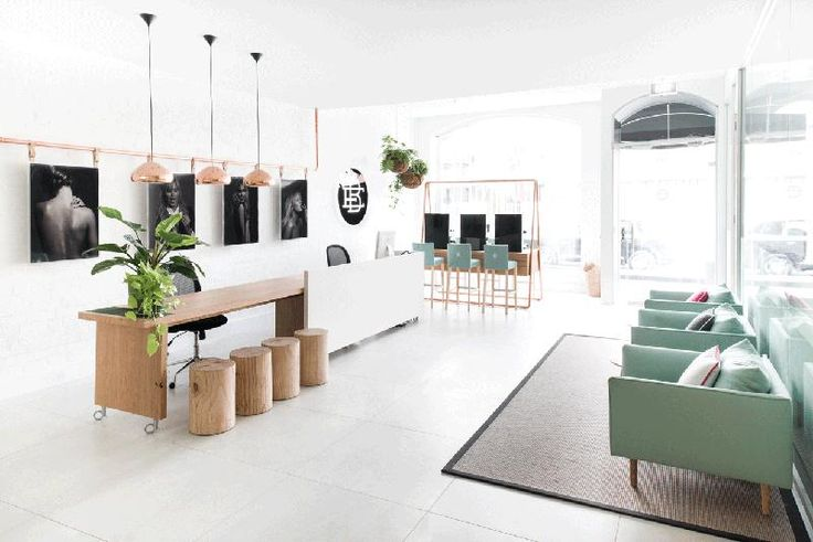 Imagine working in a salon like this. Imagine learning your craft here. Imagine being a client....