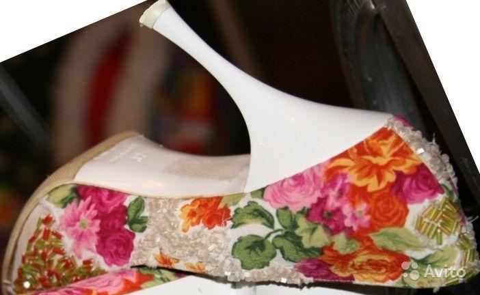 Свадебные туфли 37р купить в Самарской области на Avito — Объявления на сайте Avito