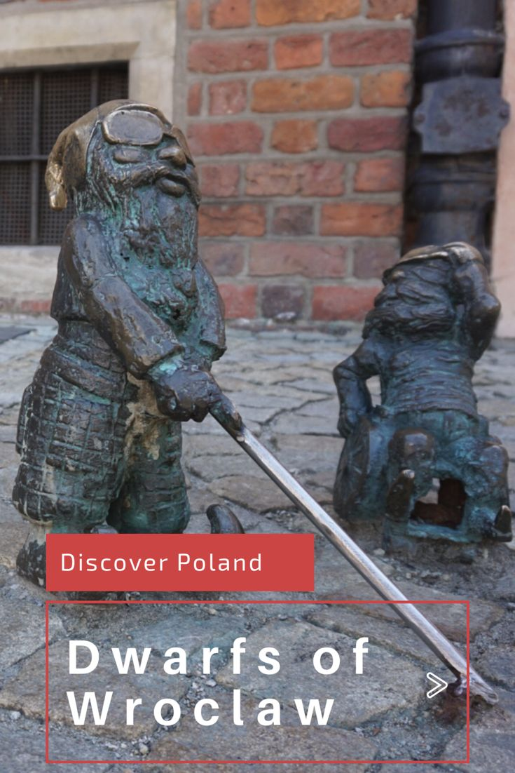 The dwarfs of Wroclaw, one of the many things to discover in this beautiful city in Poland. Check out this travel guide for more!
