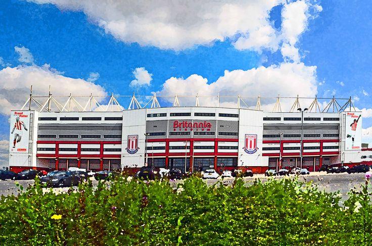 Britannia Stadium, Stoke; home of 'The Potters' Stoke City FC