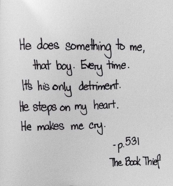 QUOTE ABOUT RUDY: This is a quote for Rudy I just thought it was relevant because it describes what death feels about this boy.                                                                                                                                                     More