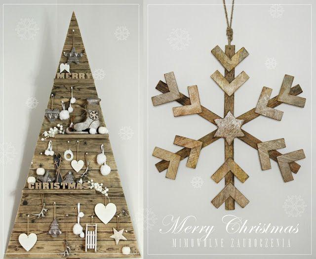 Christmas tree, hristmas Tree, Choinka inaczej, Eco, Rustical Xmas Tree, Naturalna Choinka bez igieł, Mimowolne Zauroczenia,  un sapin de Noël en bois, Wood Pallet Christmas Tree |