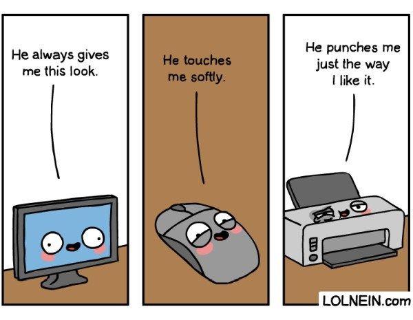 Loving Technology Comic Joke Of The Day Funny Jokes Jokes