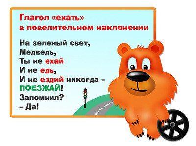 Веселые запоминалки по русскому я..