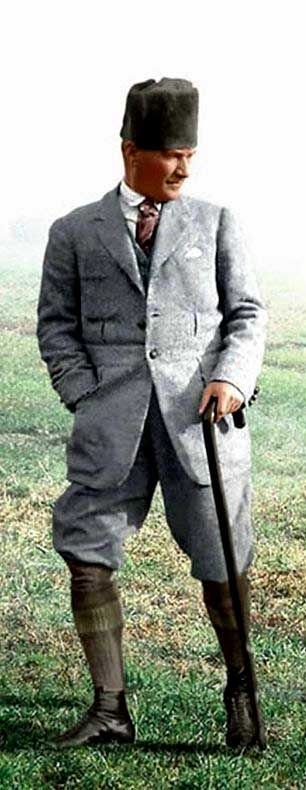 M.Kemal Atatürk (Erdinç Bakla archive)