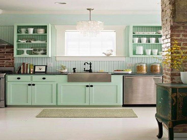 Mint Grüne Küchen   Neue Deko