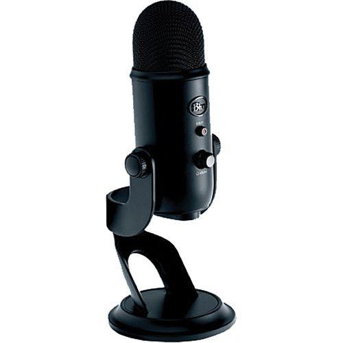 Blue Yeti USB Microphone (Blackout) 2070 B&H Photo Video