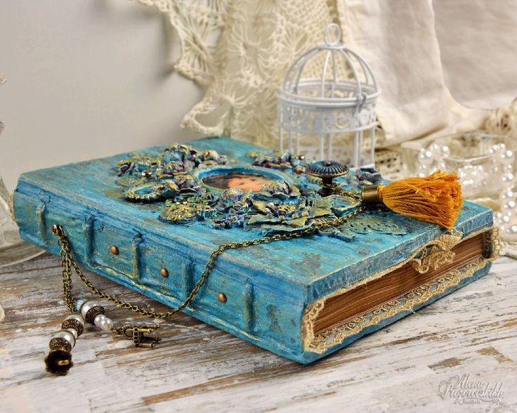 """Купить Блокнот """" Завтрак у Тиффани"""" - бирюзовый, блокнот, блокноты, тиффани, ежедневник, подарок для девушки"""