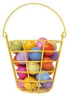 Fácil forma de encontrar las pelotas en el putting Green