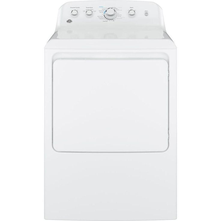 GE 7.2 cu. ft. Electric Dryer in White-GTD42EASJWW - The Home Depot