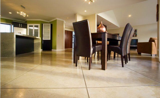 Another example of a beautiful floor created by PFL #305 coloured concrete
