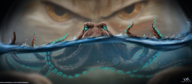 ArtStation - Monsters, Vladimir Mineev #fantasy #conceptart #creature #characterdesing