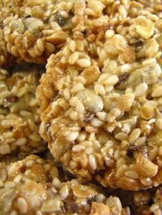 No-Bake Almond-Butter Granola Balls